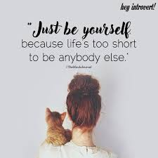 Image result for just be yourself
