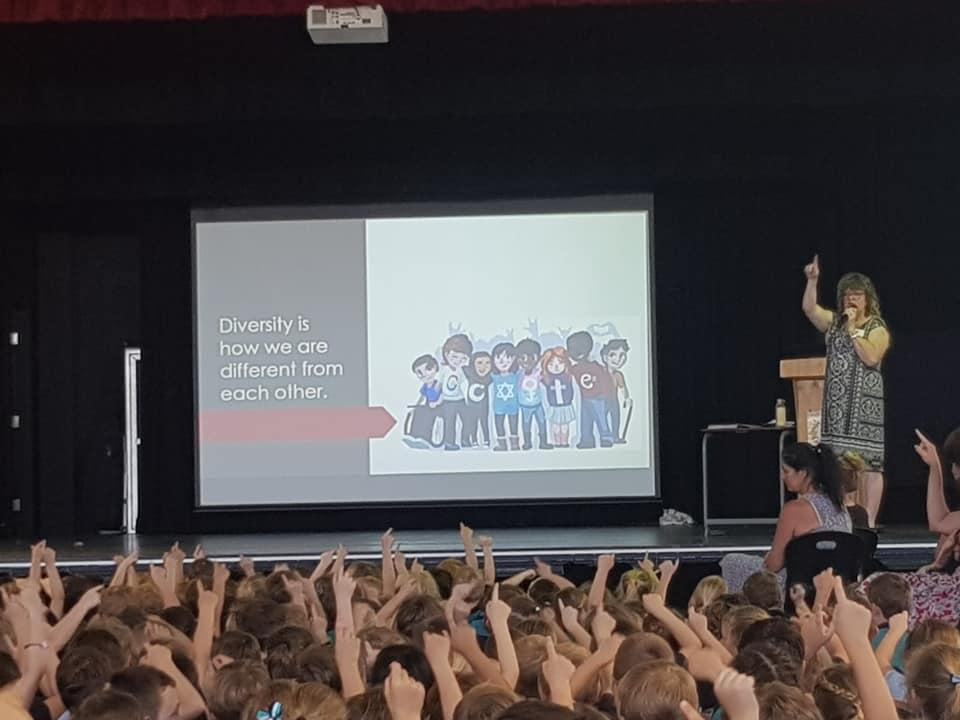 Jenny Woolsey School Visit