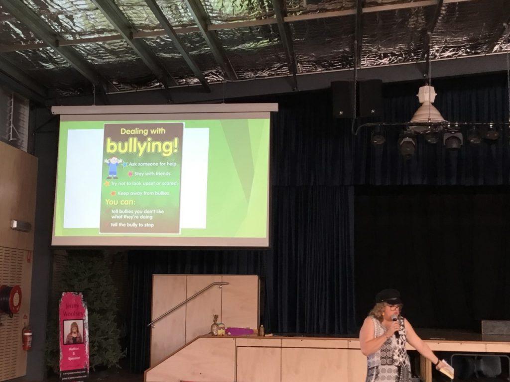 Bullying School Visit Jenny Woolsey